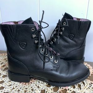 Ariat Heritage Lacer Leather Western Boots